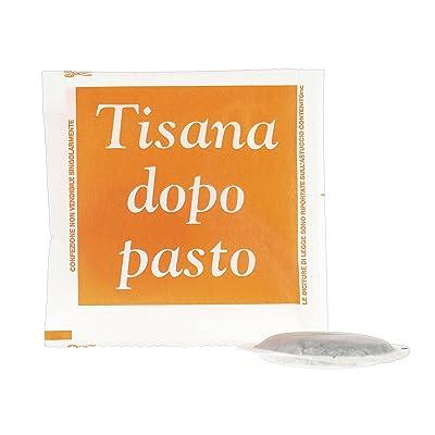 Caffè Bicau Tisane Après Repas Boîte de 50 Dosettes Compatible avec les Dosettes Ese Diamètre 42-44 mm 150 g