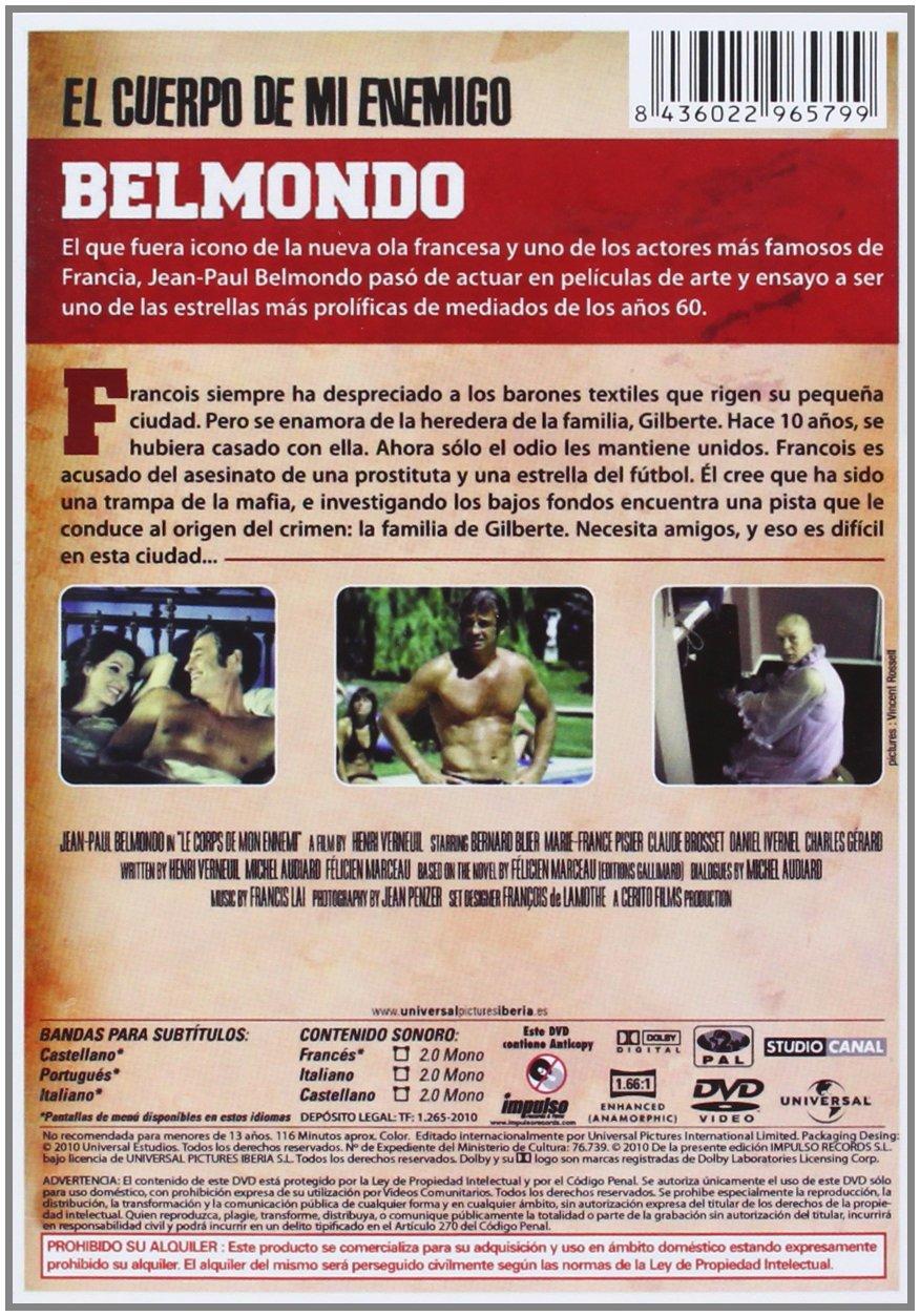 Amazon.com: El Cuerpo De Mi Enemigo (Import Movie) (European Format - Zone 2) (2013) Varios: Movies & TV