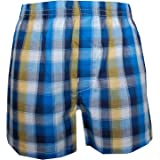 sanetta Jungen Doppelpack Boxershorts   Hipshorts, blau gemustert ... 0ed71ec54f