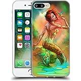 Official Shannon Maer Mermaids Wish Fantasy Art Soft Gel Case for Apple iPhone 7 Plus / 8 Plus