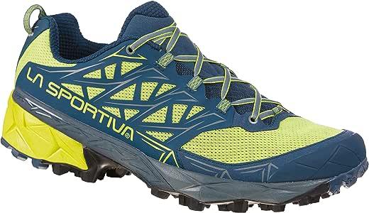 La Sportiva Akyra - Zapatillas de trail para hombre, zapatillas de trail running Hombre botas de montaña, Apple Green 47 Opal, talla única: Amazon.es: Deportes y aire libre