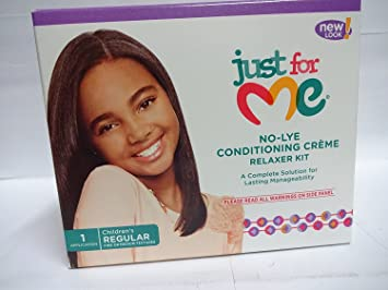 b7d58ffed Image Unavailable. Image not available for. Color: Soft & Beautiful Just  for Me Relaxer, No-Lye Conditioning Creme, Children's Regular