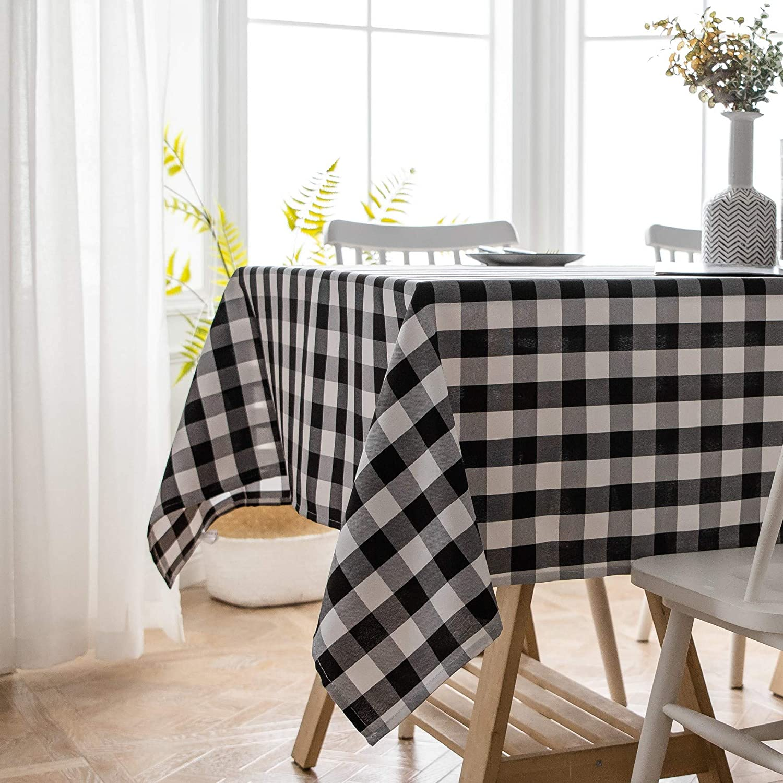 Amazon.com: Aquazolax - Manteles rectangulares de algodón y ...