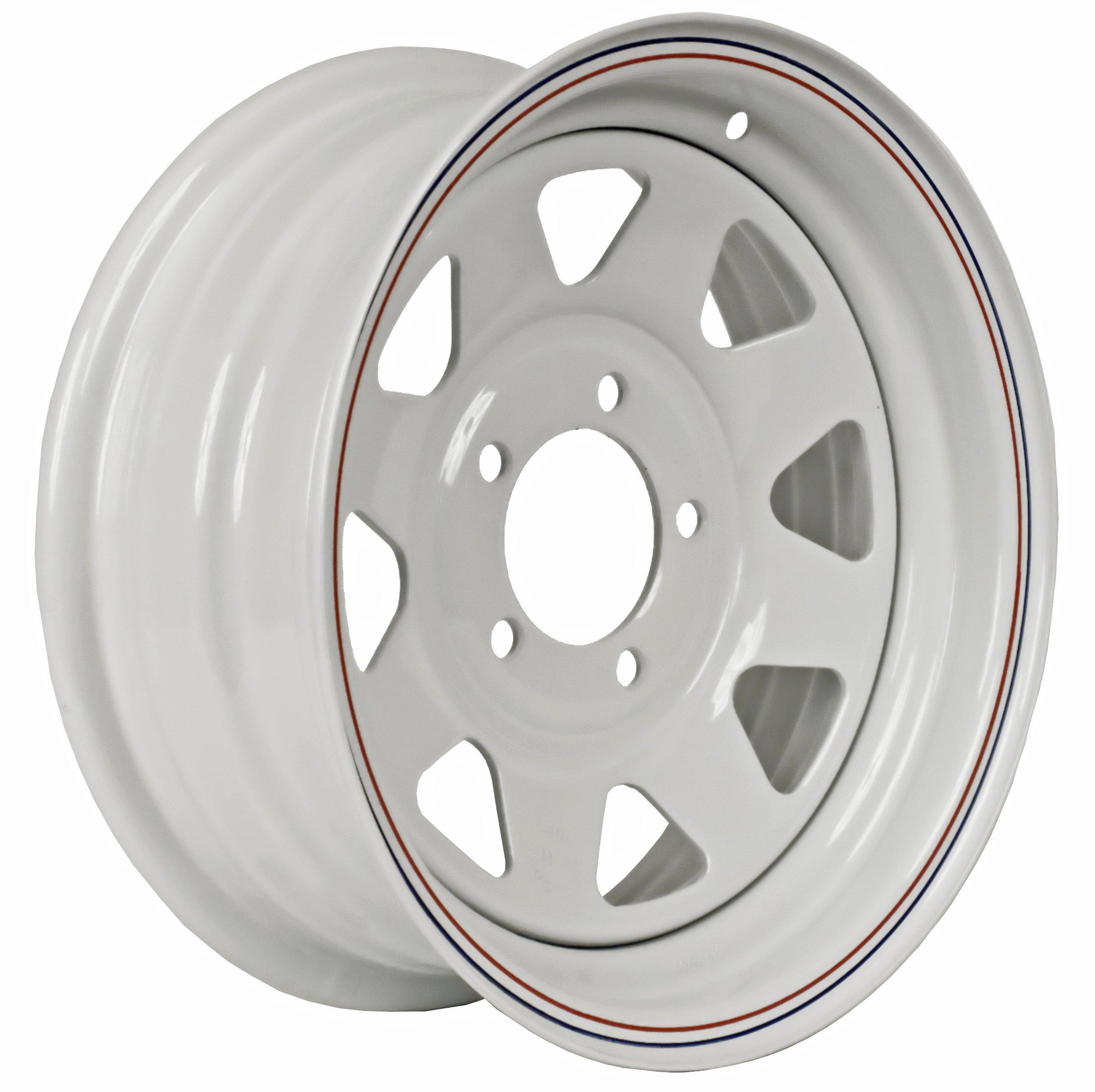 Martin Wheel 5-Hole Steel Custom Spoke Trailer Wheel (15x6/5x4.5)