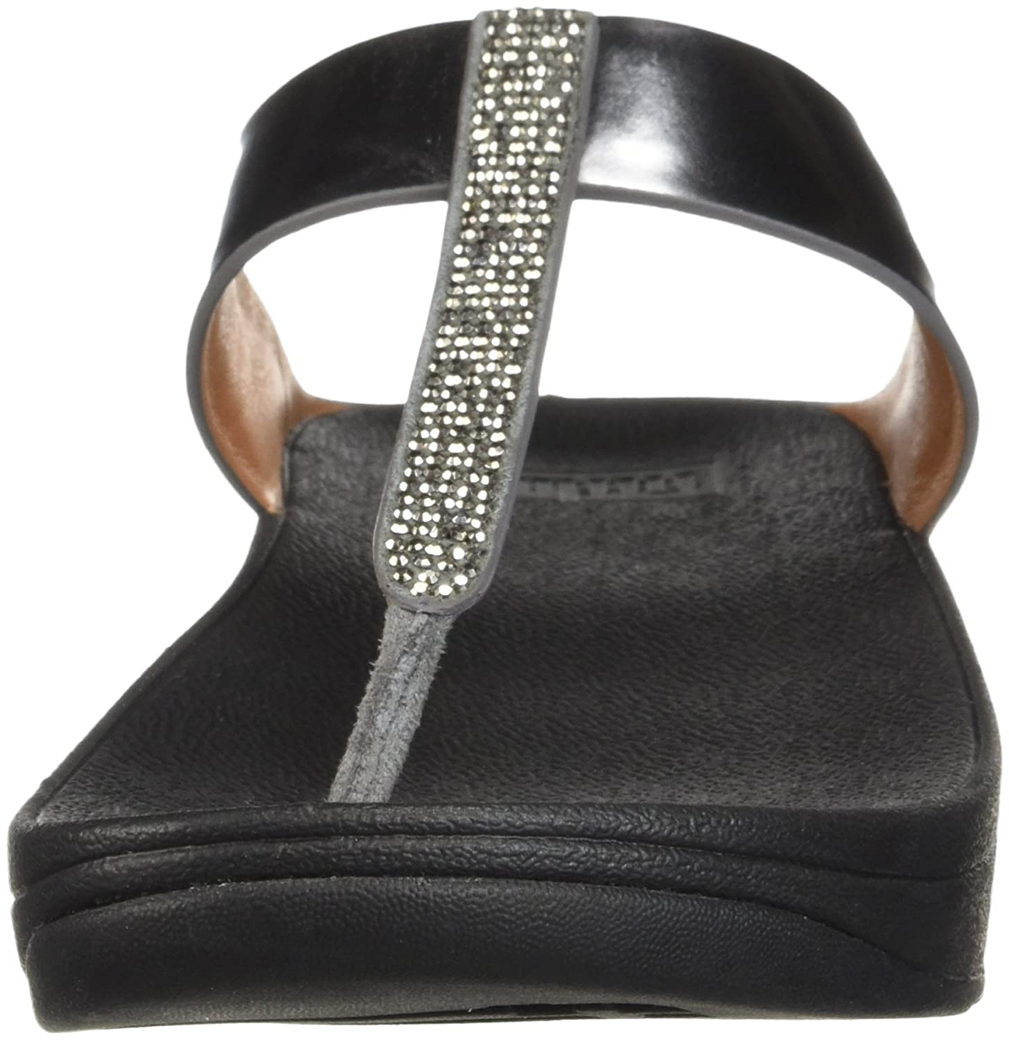 FitFlop™ Womens Fino Womens FitFlop™ Fuß Post Sandalen Pewter 0aad8a