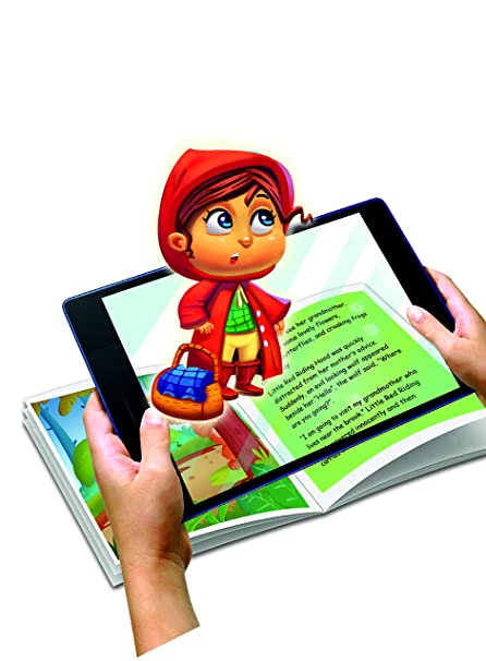 Amazon.com: WizarKids 4D+ Augmented Reality Story Book (Little Red ...