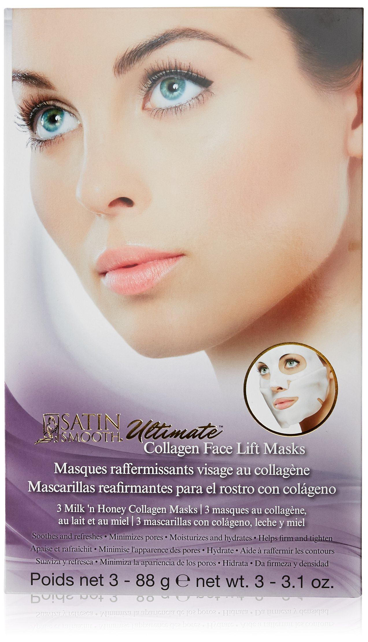 Satin Smooth Ultimate Eye Lift Collagen Masks for Sale