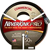 Teknor Apex Neverkink, 9844-50  PRO Water Hose, 3/4-in x 50 feet.
