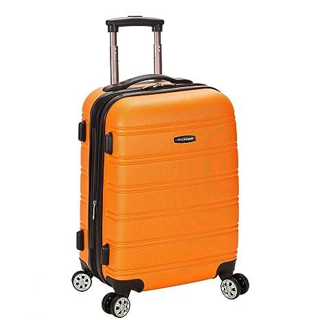 Rockland Juego de maletas, naranja (Naranja) - F145-ORANGE