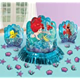 Amscan Disney Ariel The Little Mermaid Dream Big Table Decorating Kit 23 pieces Party Supplies