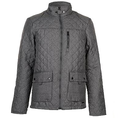 Pierre Cardin Herren Jacke Gesteppt Charcoal XL: