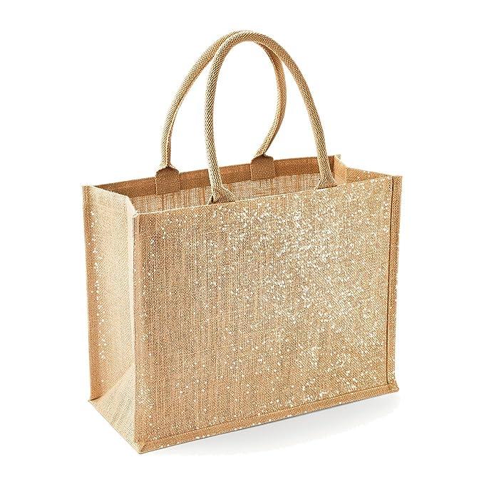 Amazon.com: Westford Mill – Shimmer Shopper Bolsa de la ...