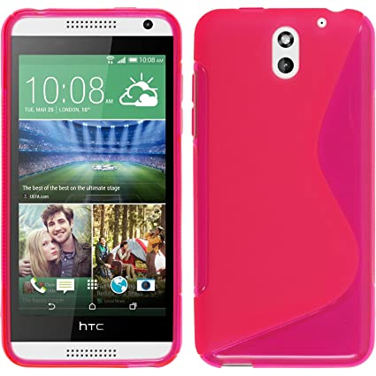 Amazon.com: Funda de silicona para HTC Desire 610 – S-Style ...