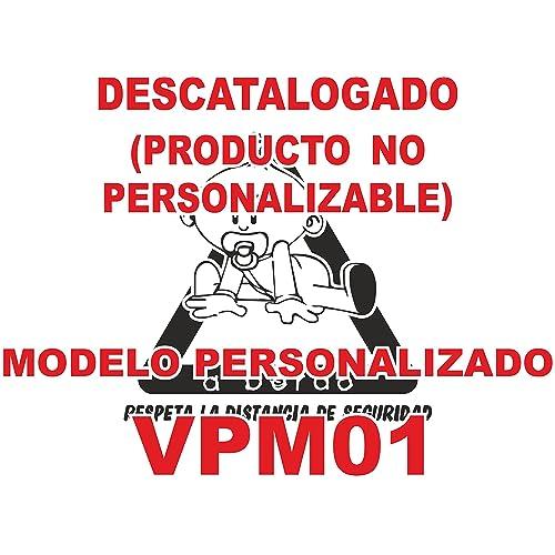 Pegatina bebé a bordo personalizada VPC01. DISEÑADO, VENDIDO Y ENVIADO POR VPM ORIGINAL.