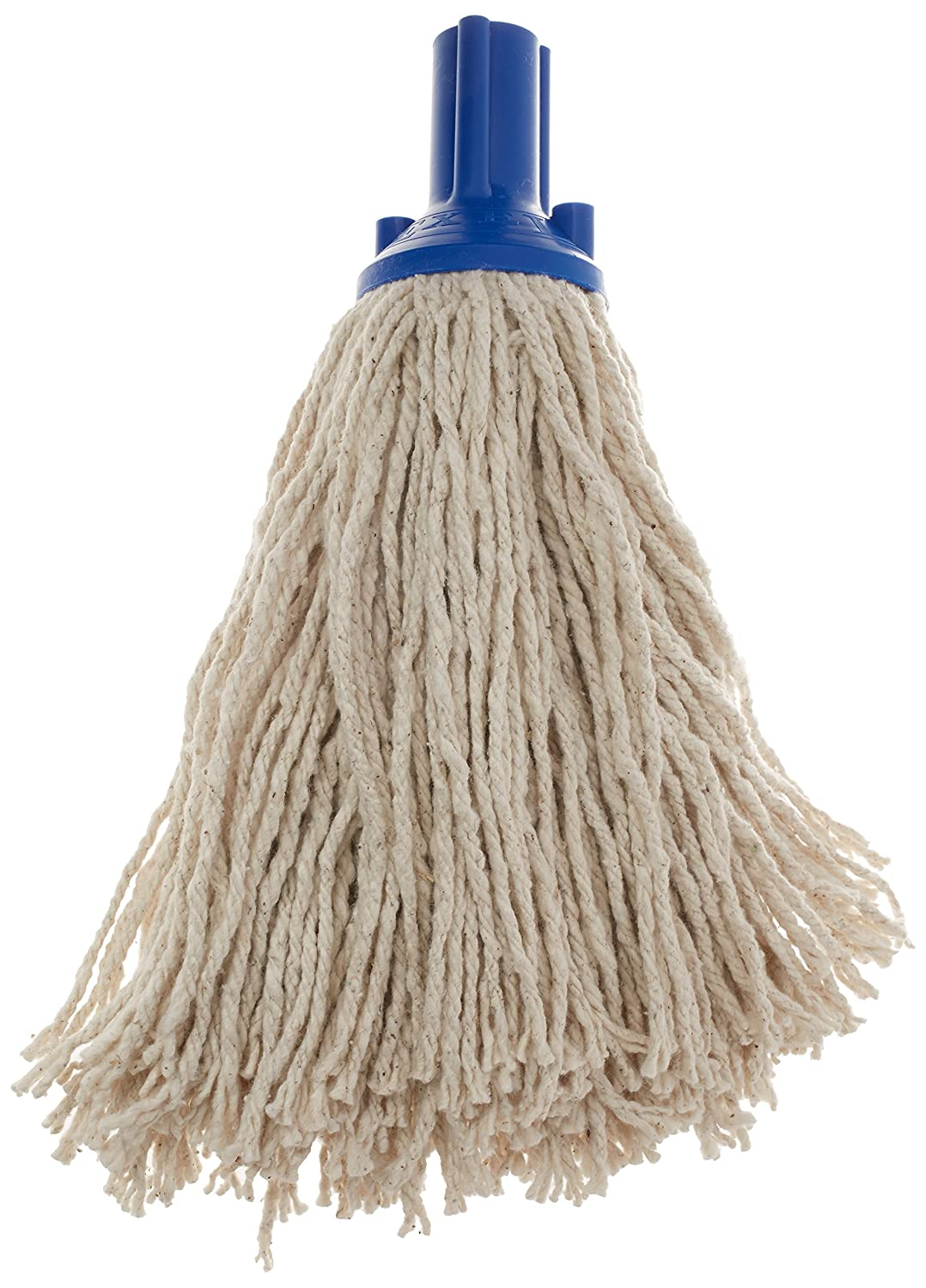 Professional Cotton Mop head with YELLOW plastic socket.220 GRAM EACH PACK  5