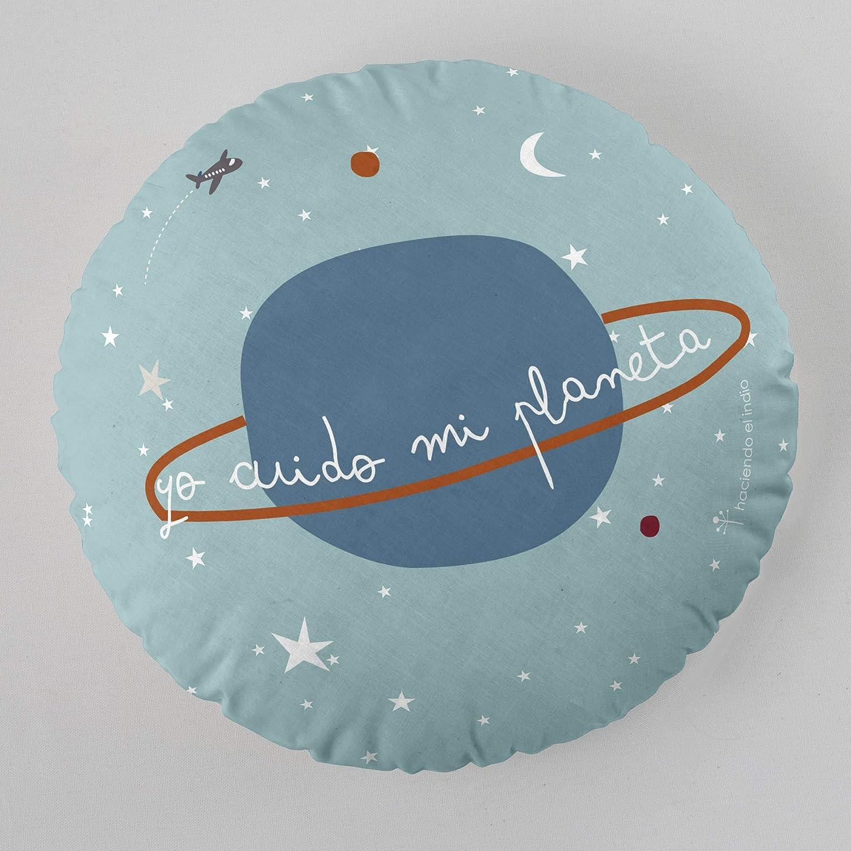 HACIENDO EL INDIO Coj/ín Canta 40 cms diametro