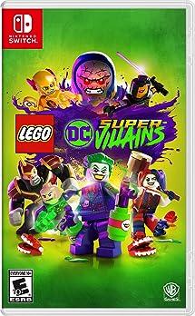 Amazoncom Lego Dc Super Villains Nintendo Switch Whv Games