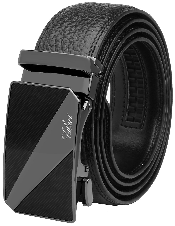 Falari ACCESSORY メンズ B01IRTBM5C M 28-36 Black Leather 14 Black Leather 14 M 28-36