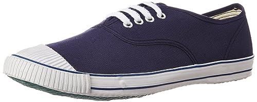 f0b689f48e2 BATA Men s Tennis Blue Canvas Tennis Shoes - 11 UK India (45 EU ...