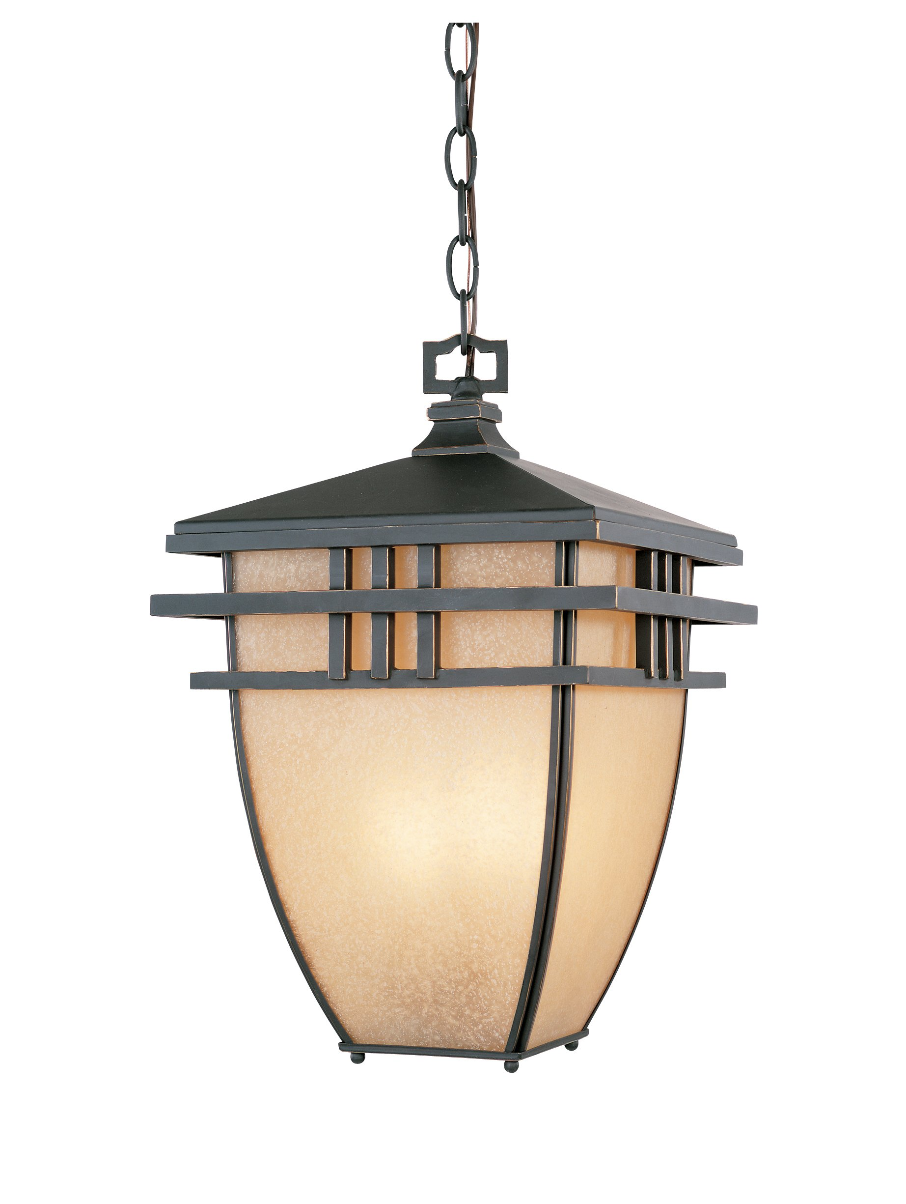 Designers Fountain 30834-ABP Dayton Hanging Lanterns, Aged Bronze Patina