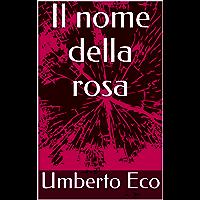 Il nome della rosa (Italian Edition) book cover
