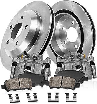 Ceramic Brake Pads For Nissan Altima Brake Rotors Front OE Calipers