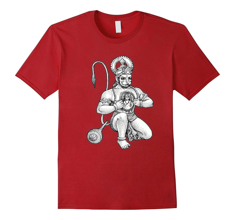 a5dbc5a4 Hanuman Hindu Deity t shirt-RT – Rateeshirt