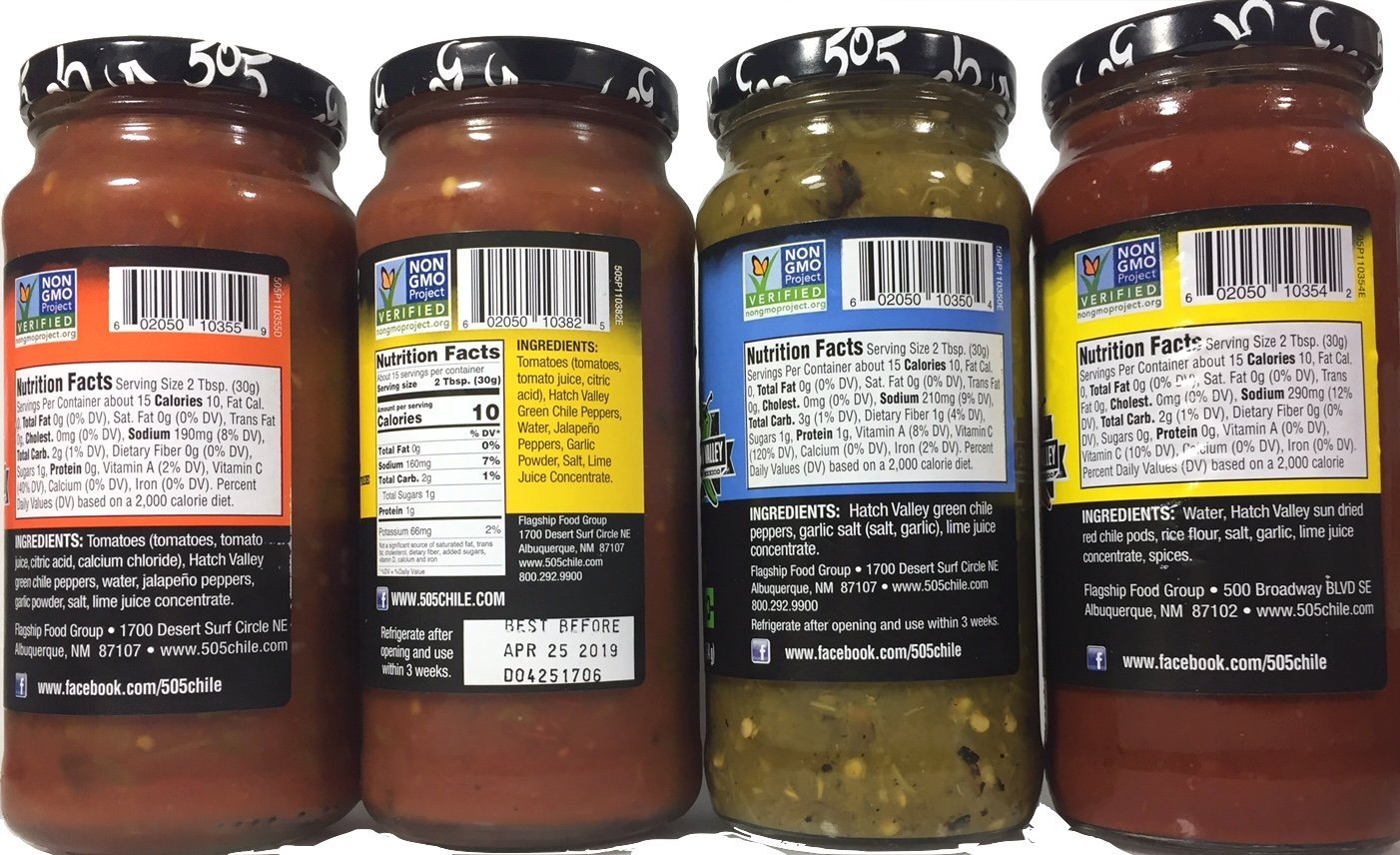 505 Southwestern 16oz Jar Variety Pack Set of 4 by 505 Southwestern (Image #2)