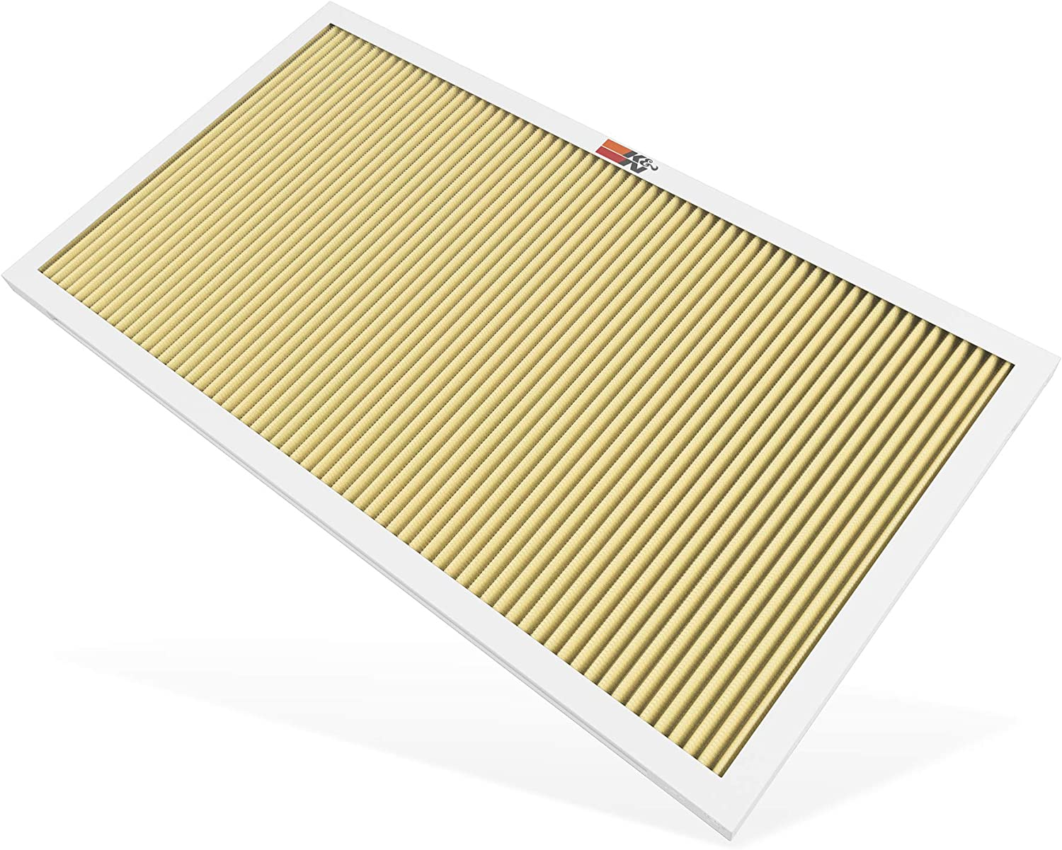 K&N 14x25x1 HVAC Air Filter; Lasts a Lifetime; Washable; Merv 11; Filters Allergies, Pollen, Smoke, Dust, Pet Dander, Mold, Smog, and More; Breathe Cleanly at Home, HVC-11425