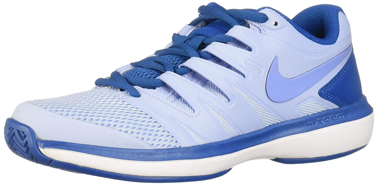 MultiCouleure (Royal Tint Monarch violet-military bleu 450) 37.5 EU Nike W Air Zoom Prestige HC, Chaussures de Tennis Femme