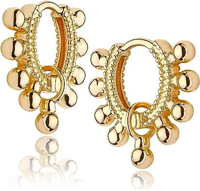 Gift For Her Everyday Hoops Tiny Heart Hoops Drop Earrings Minimalist Earrings Dainty Earrings Heart Huggies Delicate Heart Earrings