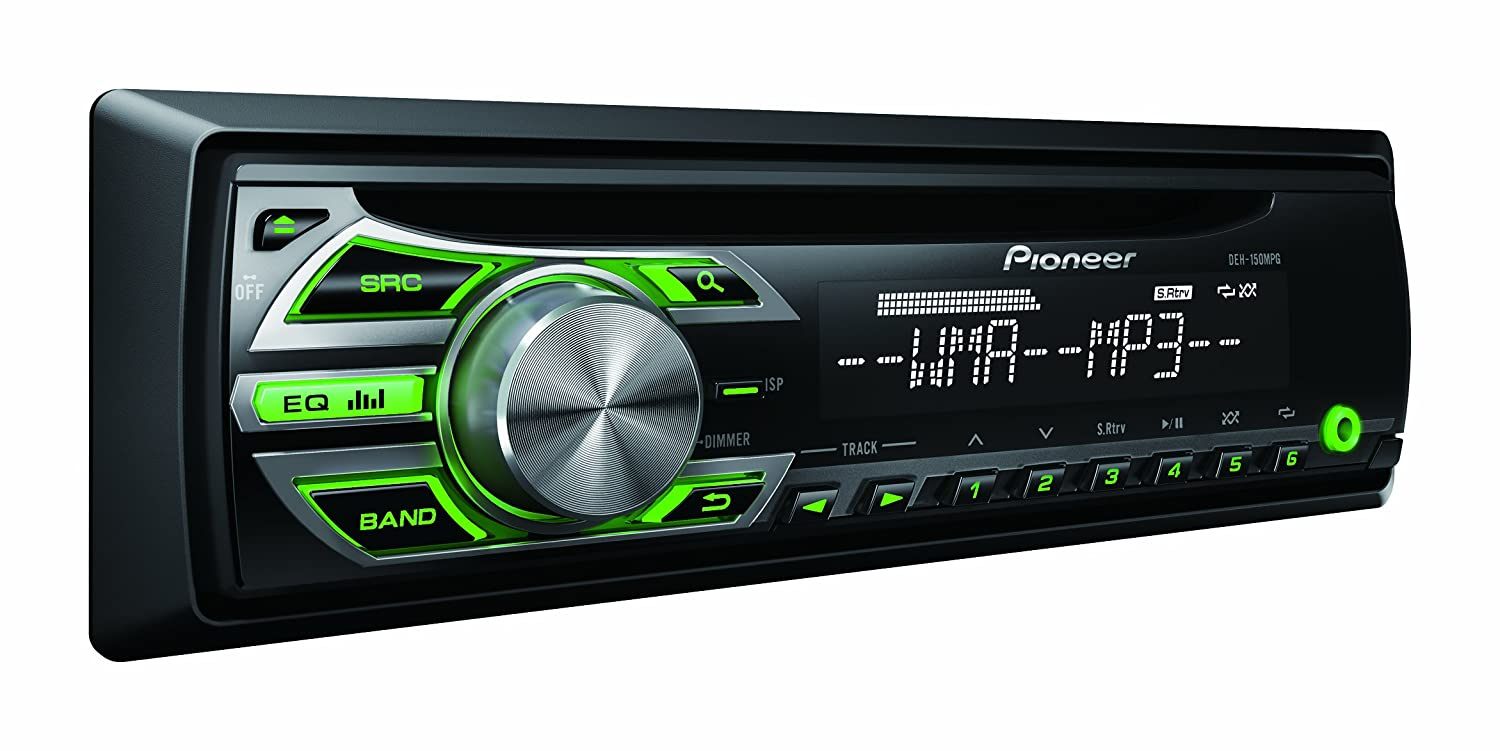 Pioneer deh mpg autoradio cd display lcd am fm w