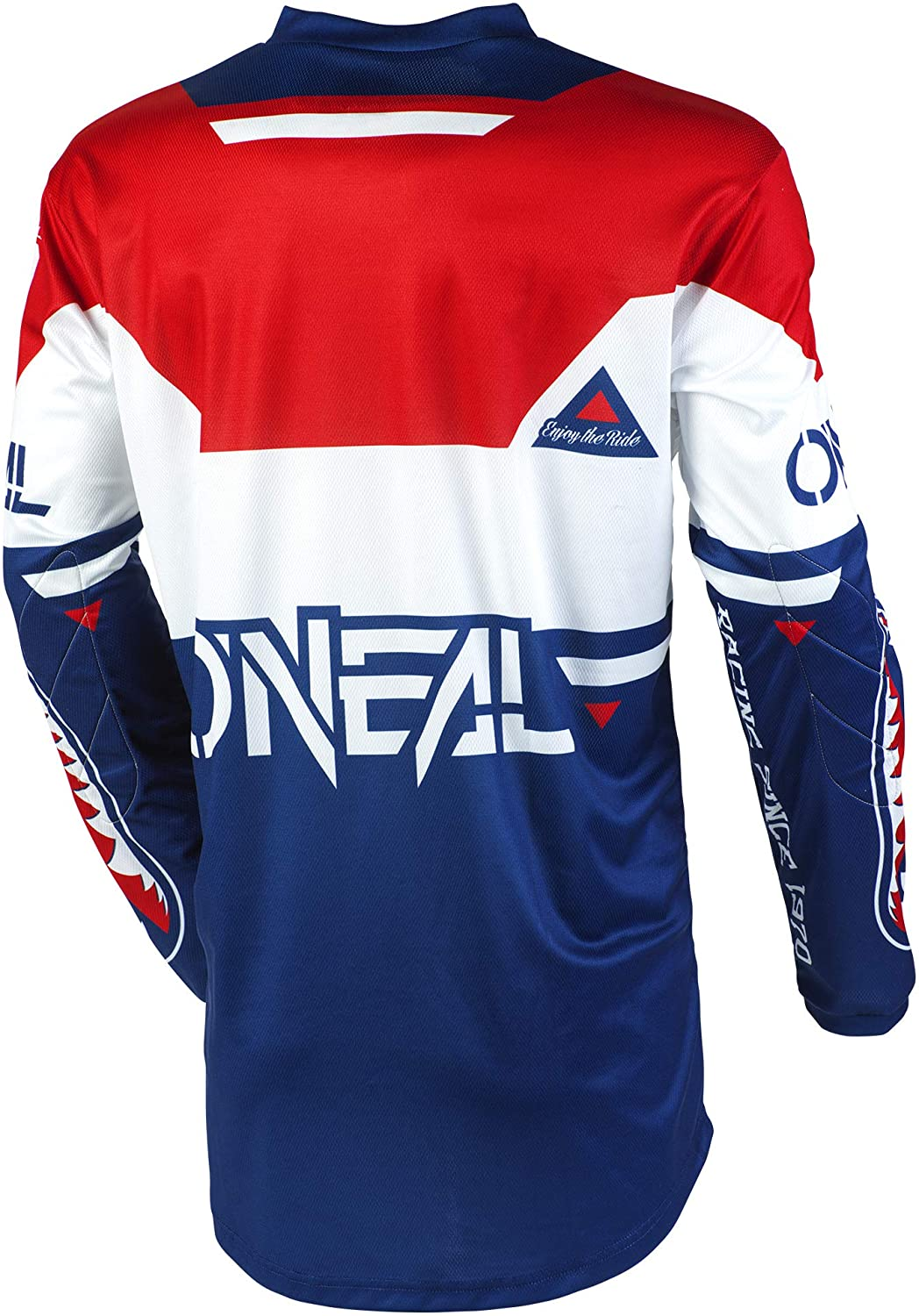 Blue//Red, L ONeal E001-414  Element Warhawk Adult Jersey