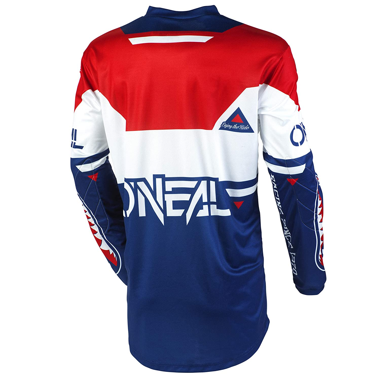 Blue//Red, M ONeal Element Racewear Child Jersey