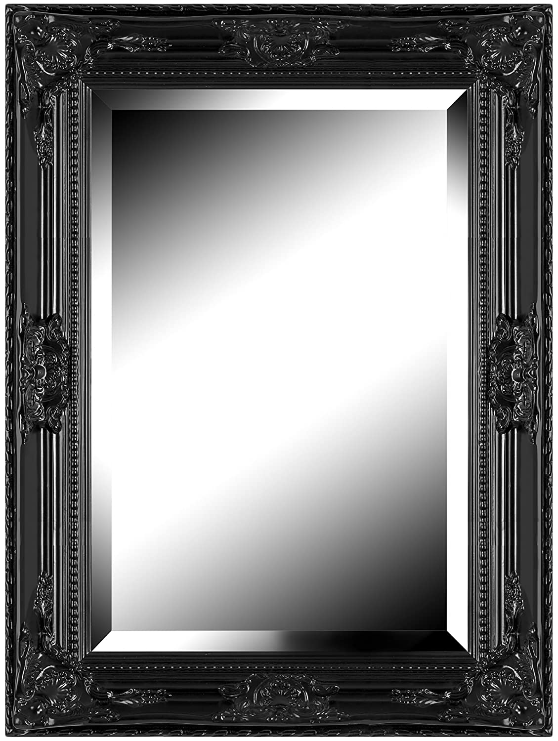 awesome miroir encadrement noir pictures. Black Bedroom Furniture Sets. Home Design Ideas