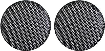 CNSZNAT 10 Pcs 10 Inch Speaker Mesh Round Grill Dust Cover –Black