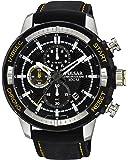 [セイコー パルサー]SEIKO PULSAR 100m防水 1/10秒クロノグラフ ブラック 腕時計 メンズ PM3053 [並行輸入品]
