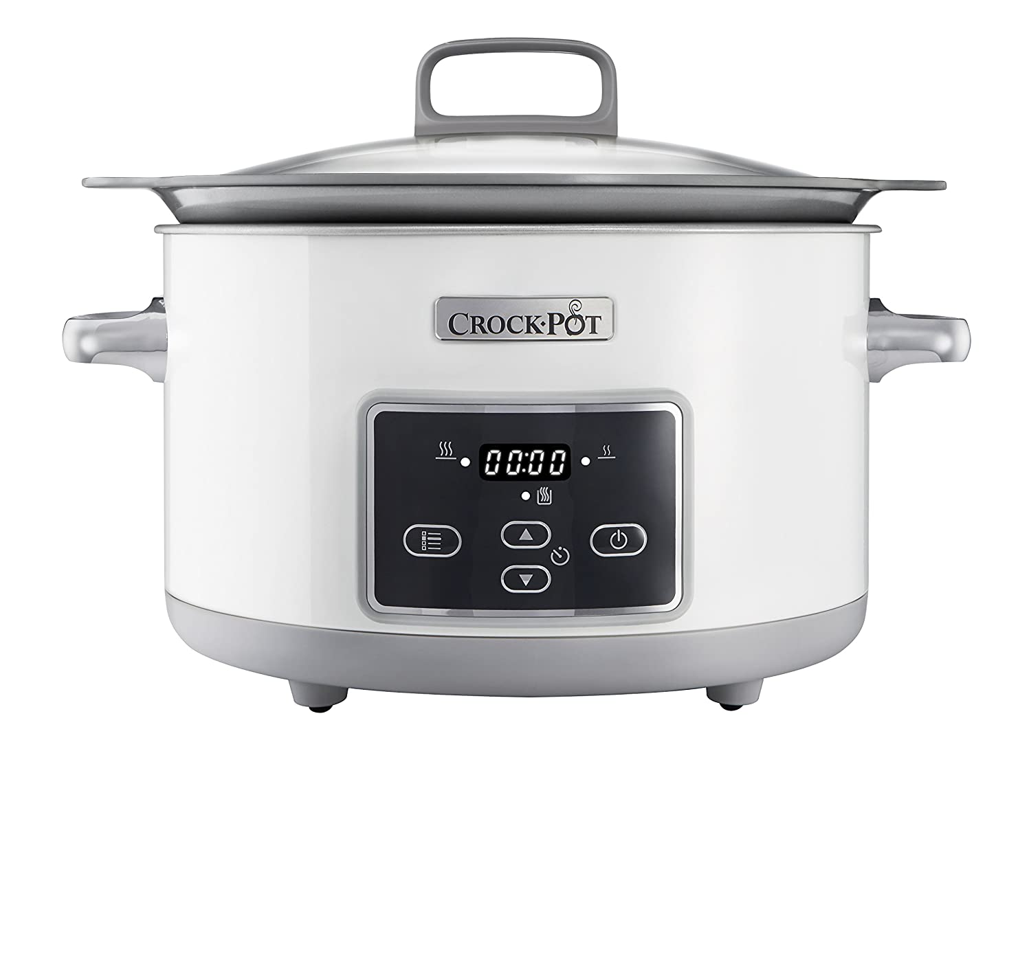 Crock Pot Duraceramic CscX Olla de cocción lenta L color blanco