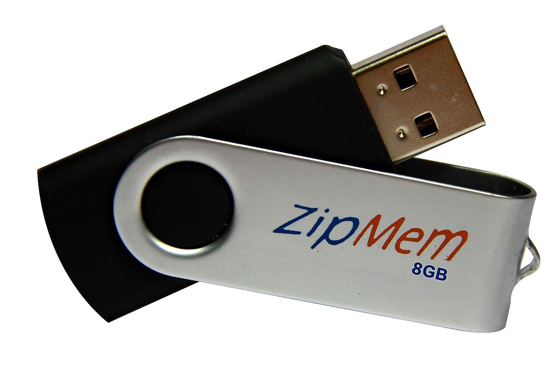 Zipmem 8GB USB 2.0 Pendrive