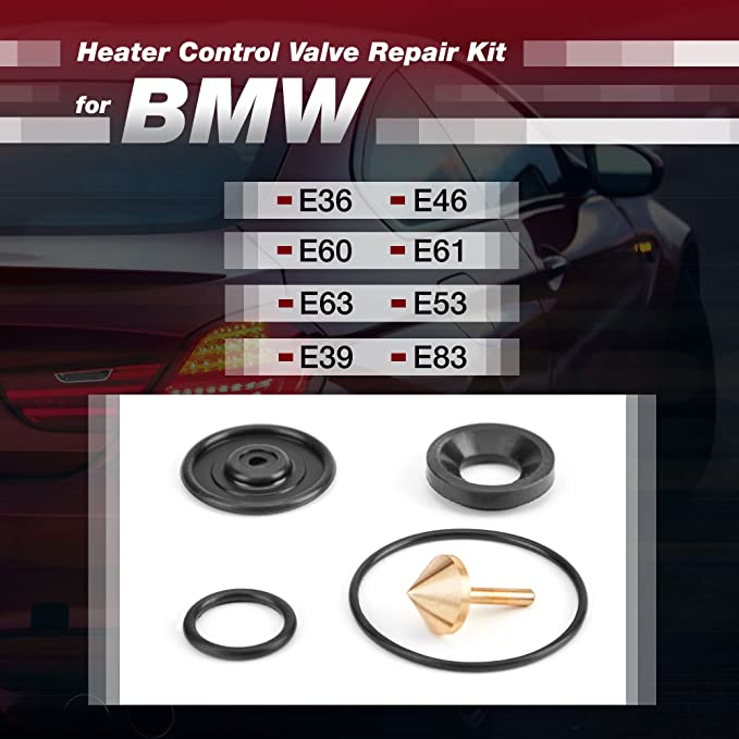 Amazon com: Heater Valve Repair Kit Compatible with BMW Cars - Set