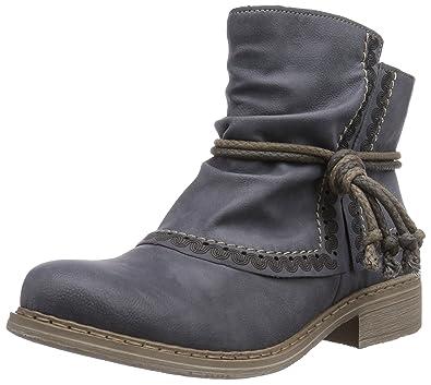 114cb7e6abad Rieker 75673, Damen Halbschaft Stiefel  Amazon.de  Schuhe   Handtaschen