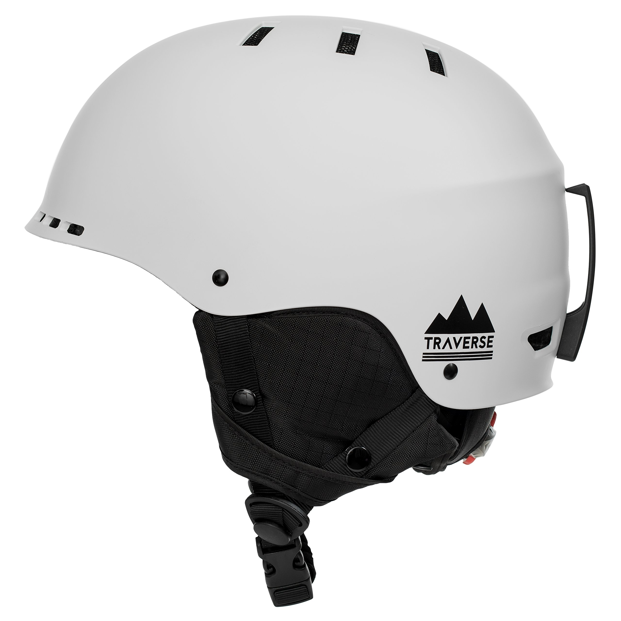 Traverse Sports 2-in-1 Convertible Ski & Snowboard/Bike & Skate Helmet