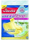 Vileda Actifibre - Bayeta para cristales, color amarillo