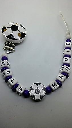 cadena chupete futbol madrid: Amazon.es: Bebé