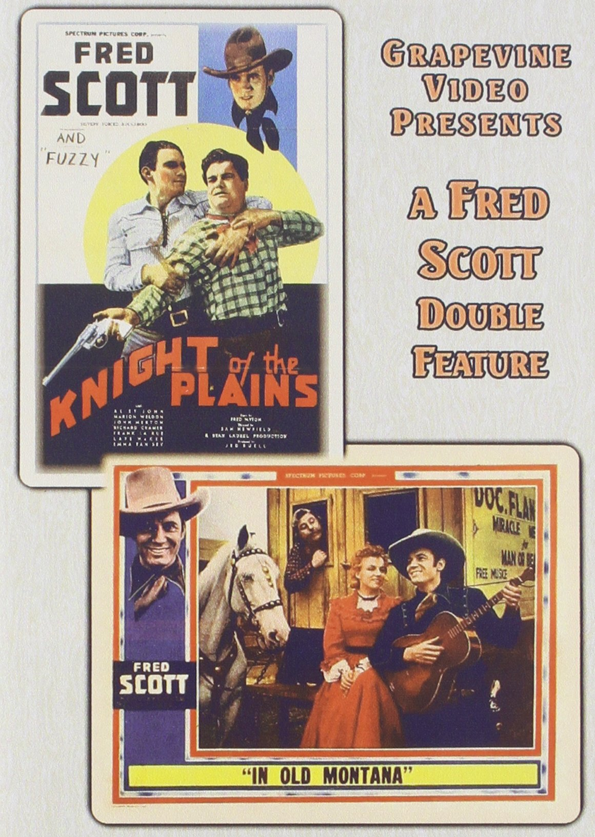 Knight Of The Plains 1938 / In Old Montana (1939) (DVD)