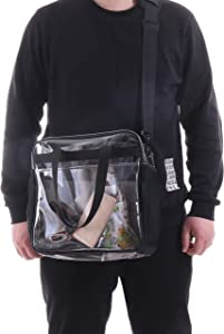 Win A Free Clear Crossbody Messenger Tote Bag - STADIUM Approved Transparent...