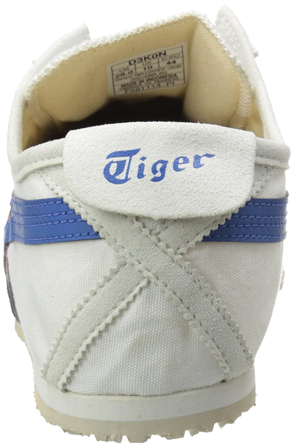 Onitsuka Tiger Mexico 66 Slip-On Classic Running US|White/Tricolor Sneaker B00L8IZ6SO 6.5 M US|White/Tricolor Running 19a3c8