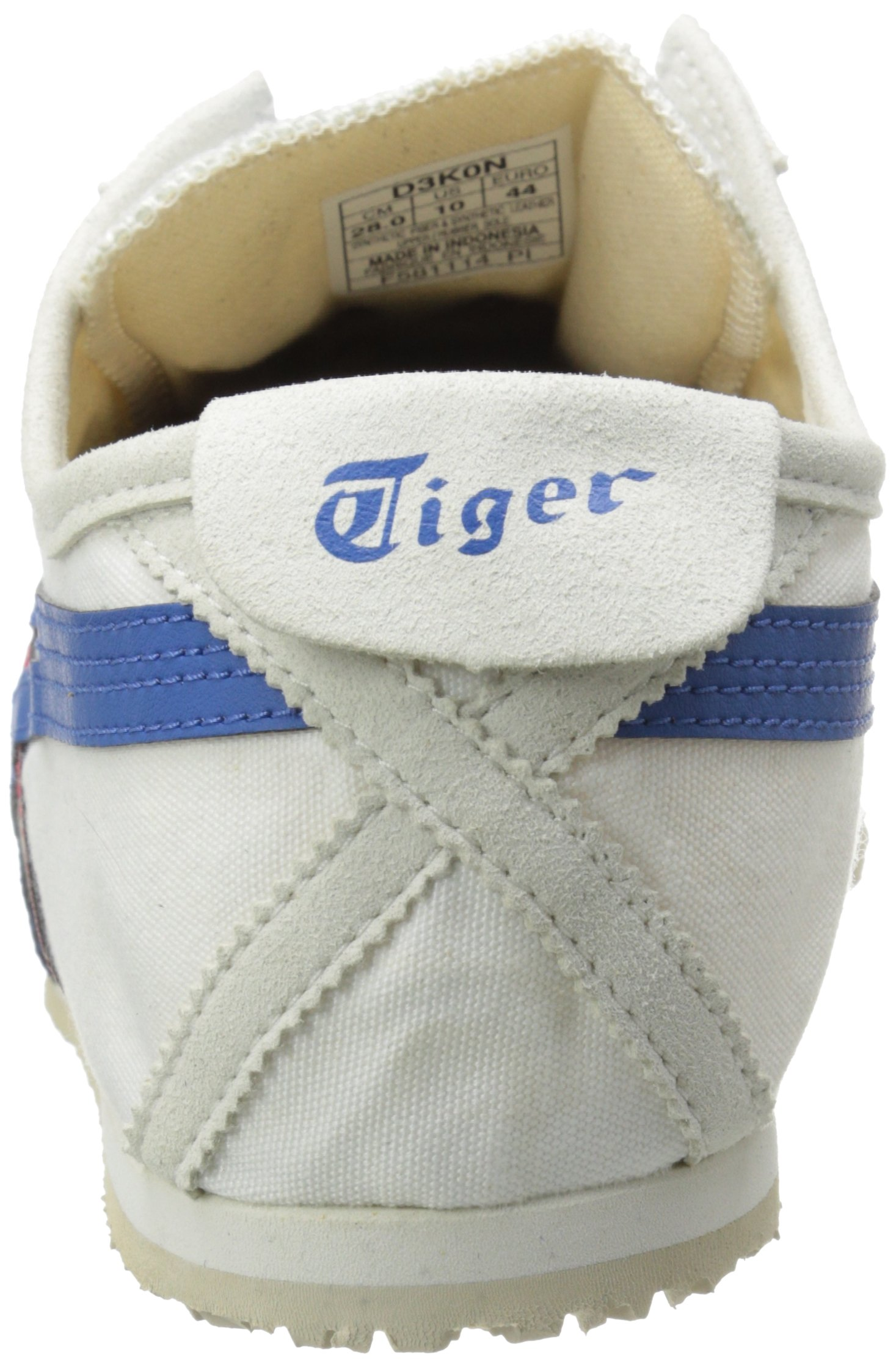Onitsuka Tiger Unisex Mexico 66 Slip-on Shoes D3K0N, White/Tricolor, 9.5 M US by Onitsuka Tiger (Image #2)