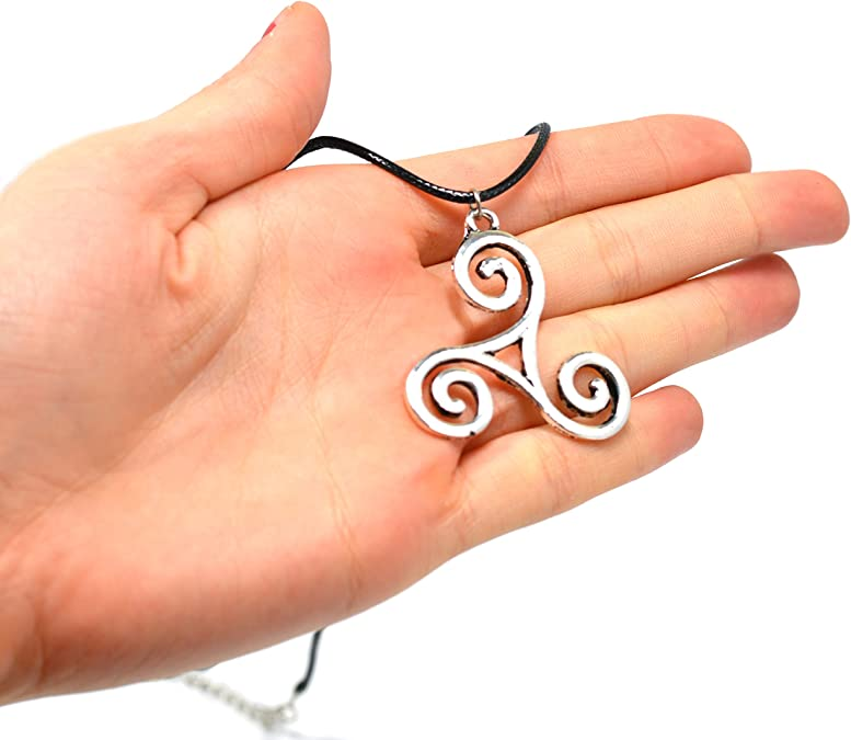 Teen Wolf Derek Hale Triskelion collar colgante triskle encanto ...