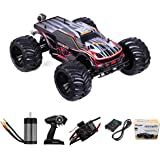 1:10 Scale Remote Control Car Truck, 80+ KM/H High Speed RTR RC Truck, 2.4GHZ Radio Controlled Electric RC Car, 4WD 4x4…